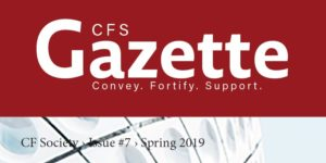 CFS Gazette Spring 2019 front cover